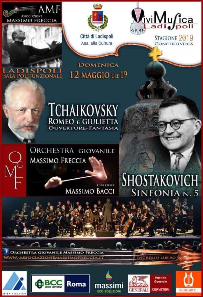 Ladispoli, alle 19.00 concerto sinfonico dell'Orchestra Giovanile Massimo Freccia