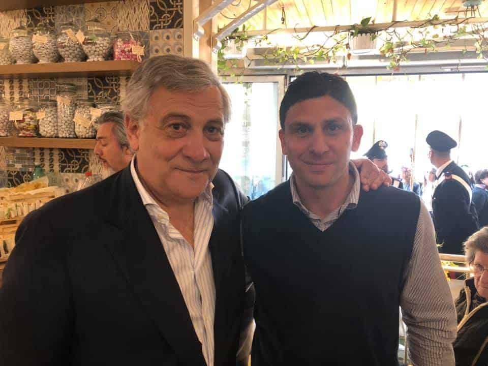 Il Presidente Tajani in visita a Ladispoli