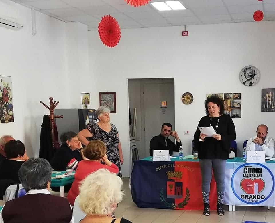 Ladispoli, l'amministrazione incontra il centro anziani