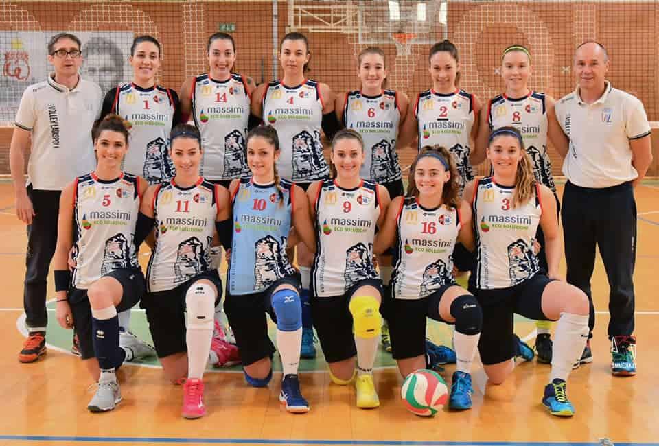 """Grando: """"Complimenti alle ragazze della ASD Volley Ladispoli"""""""