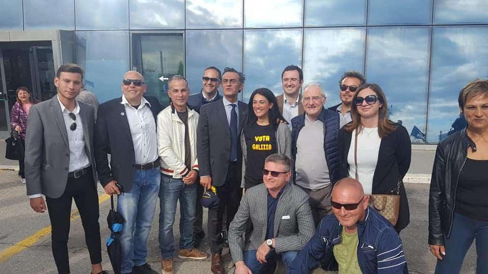 Civitavecchia, Giorgia Meloni incontra i candidati al consiglio