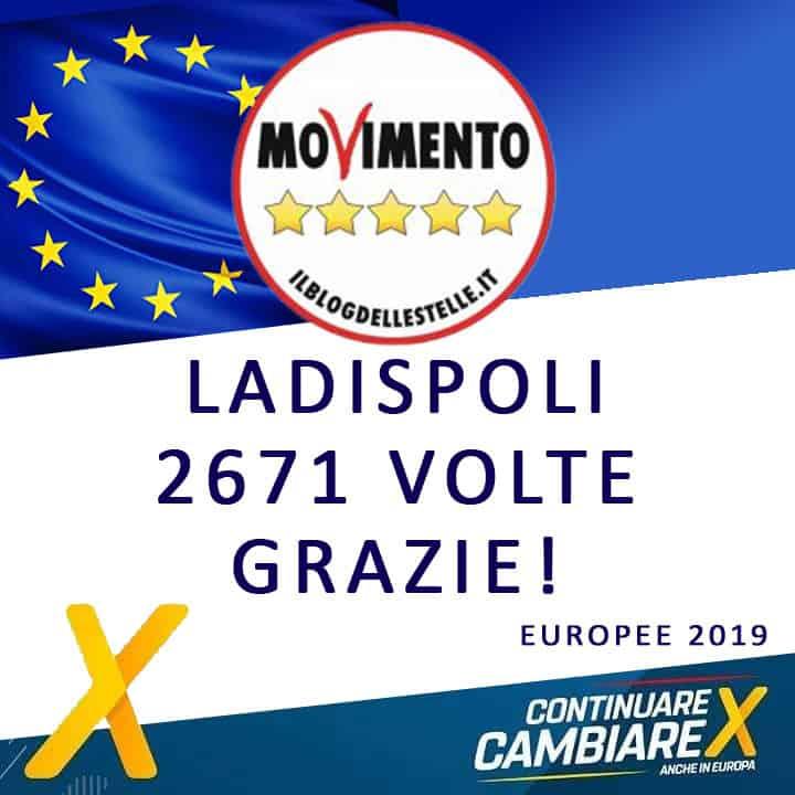 """Ladispoli, il Movimento 5 Stelle: """"Grazie ai 2671 che ci hanno votato"""""""