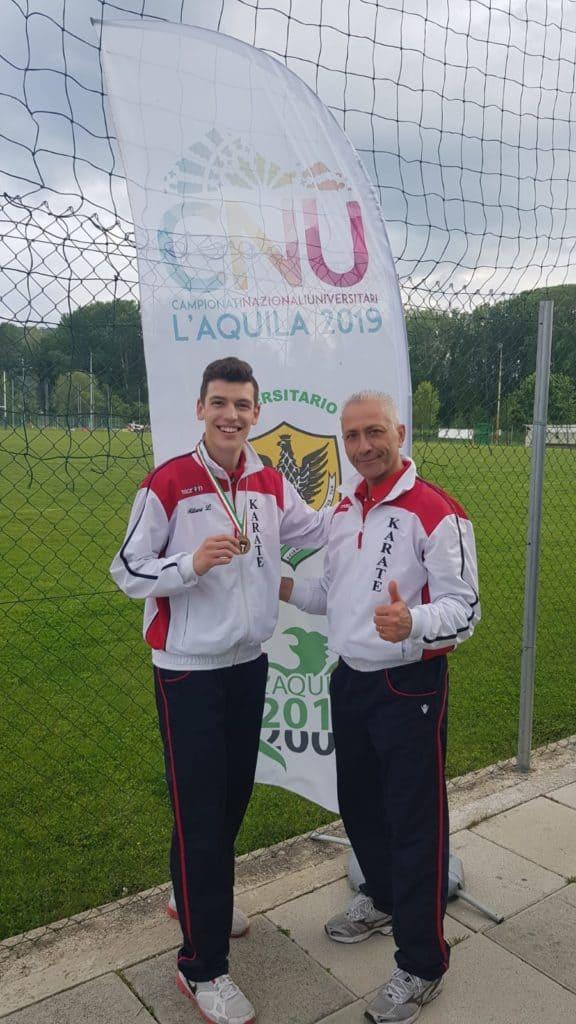 Ladispoli, Lorenzo Milani terzo ai Campionati Nazionali Universitari di karate