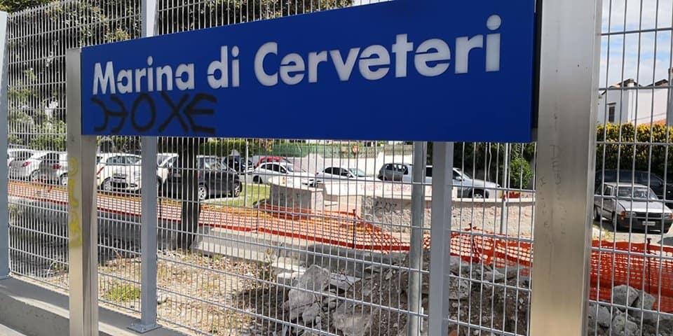 Marina di Cerveteri, vandali in stazione