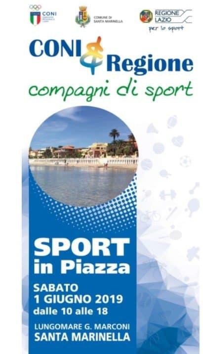 Santa Marinella, sabato lo sport scende in piazza