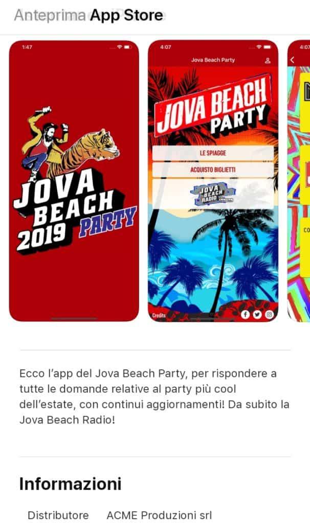 Jova Beach Party, arriva l'app per il party più cool dell'estate