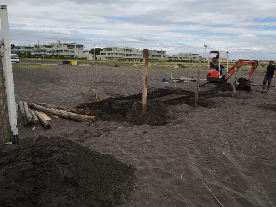 Concessione demaniale trasferita 200 metri più a nord per consentire l'allestimento del Jova Beach Party