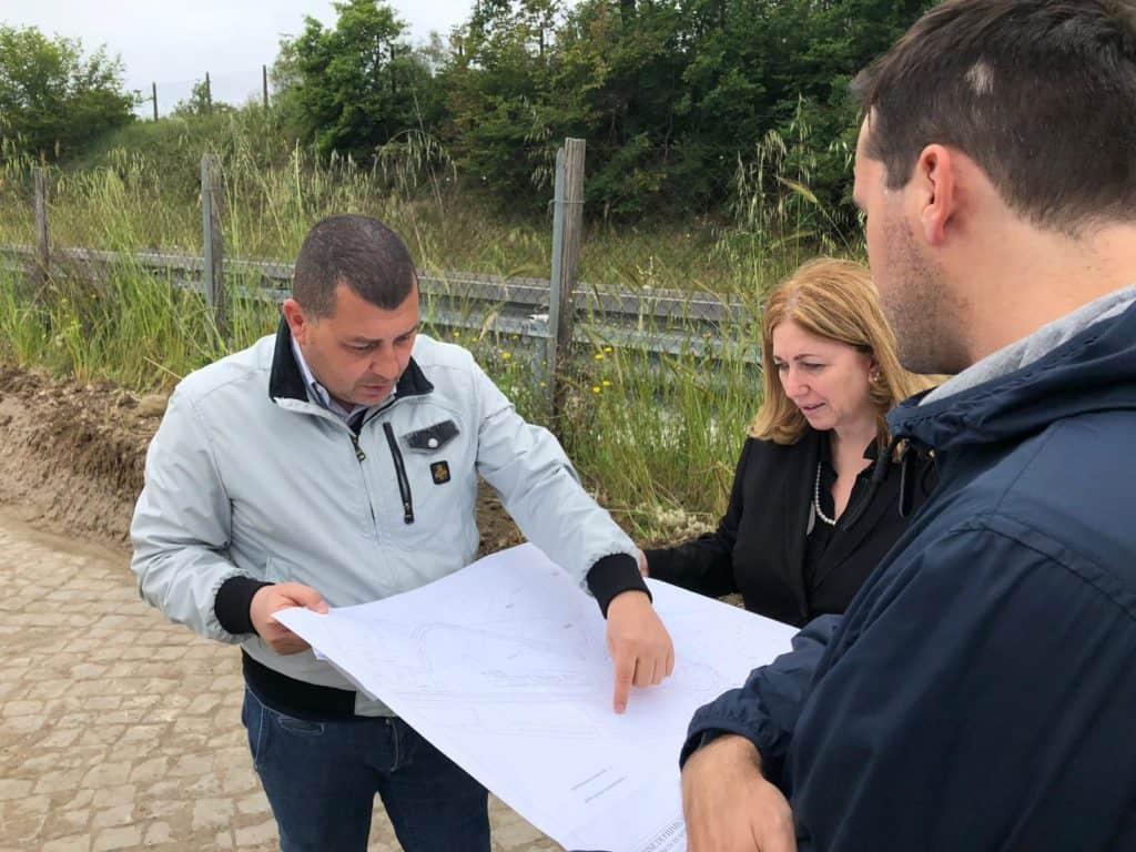 Aranova, iniziati gli scavi per il nuovo svincolo sulla statale Aurelia