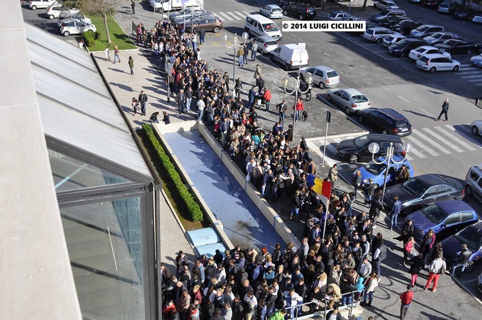 Il seggio romeno nel 2014