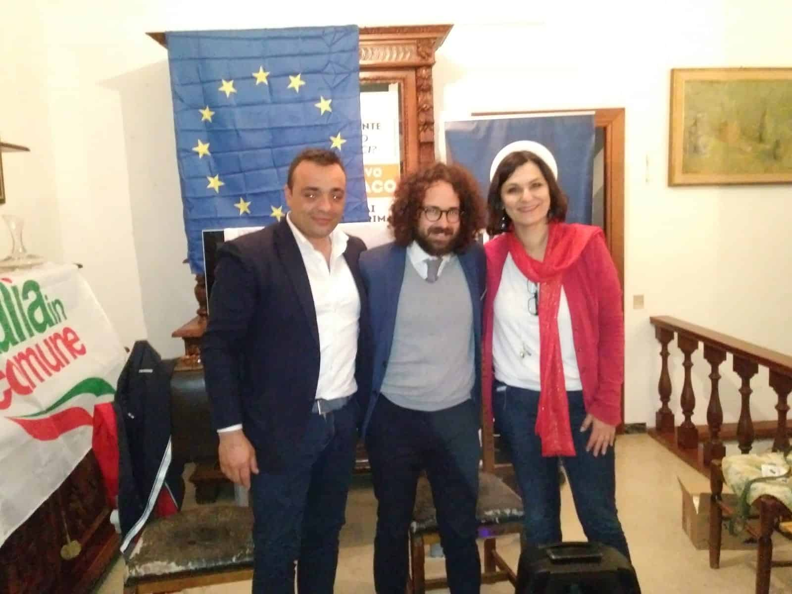 Cerveteri, Europee2019 (+EUROPA/IIC): grande pubblico per l'incontro con Travaglini, Monteverde e Pascucci