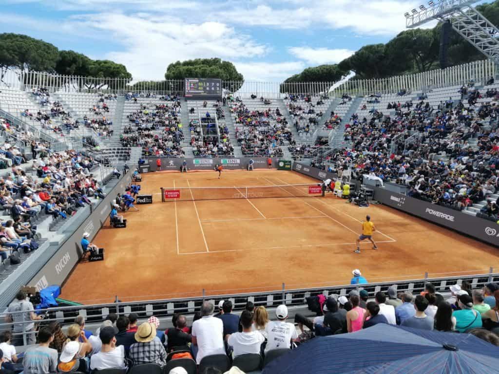 Gli studenti dell'istituto superiore Giuseppe Di Vittorio agli internazionali di tennis