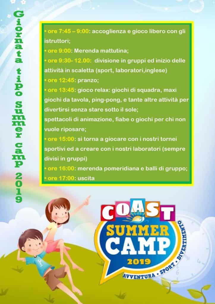 Cerveteri, al Coast Summer Camp un'estate da scoprire