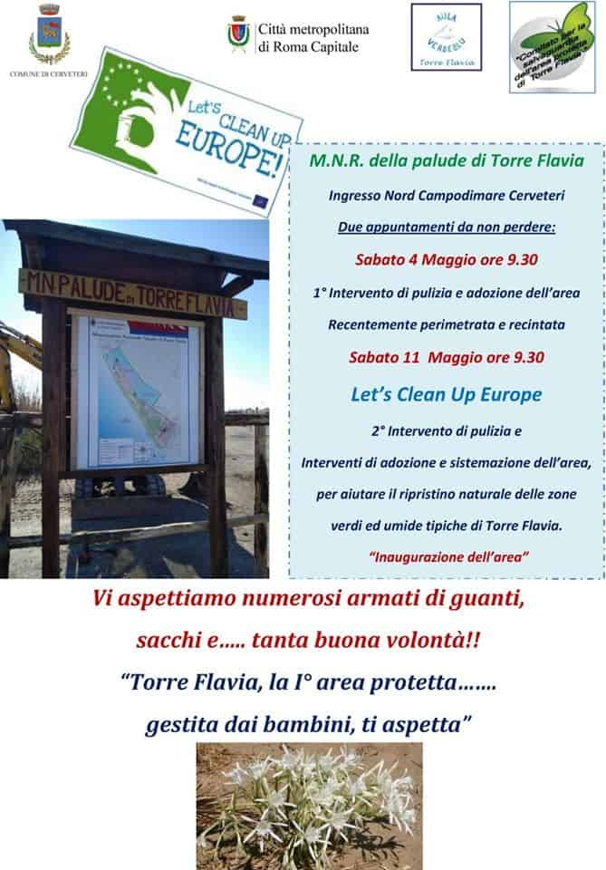 Torre Flavia, torna Let's Clean up Europe!