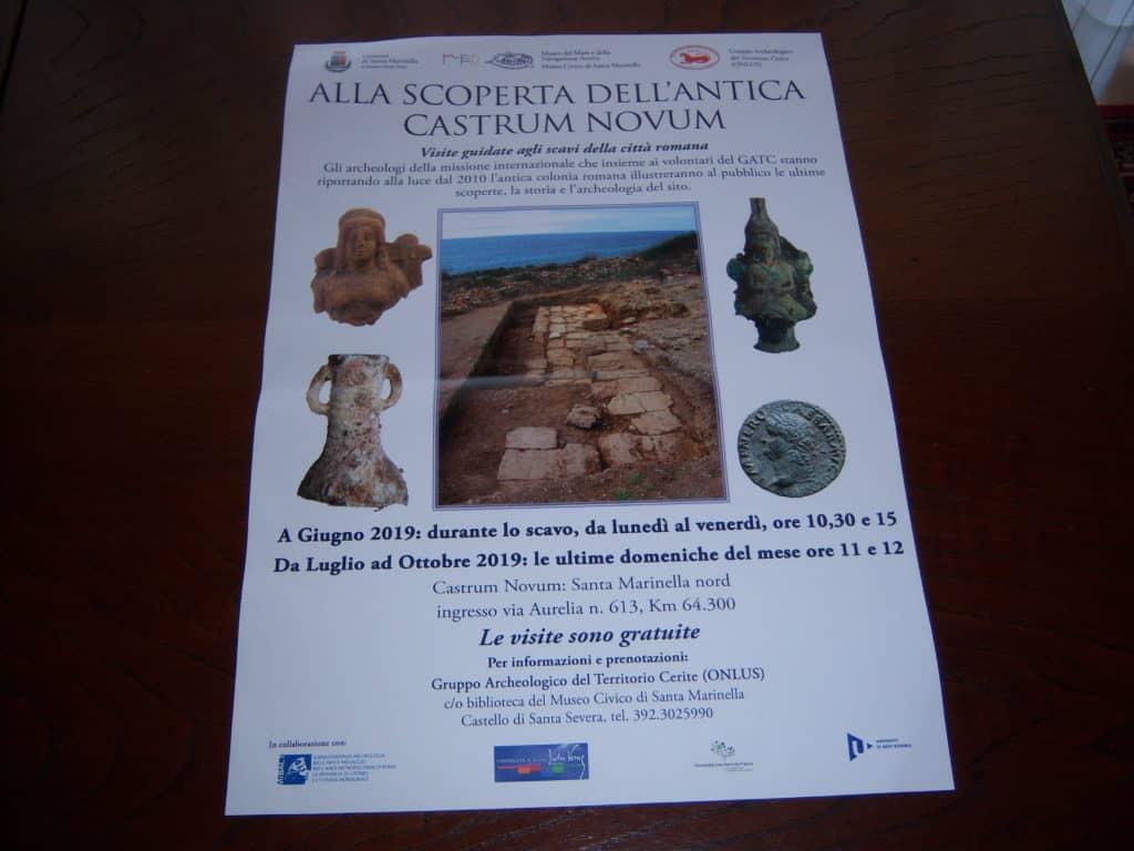 Nuovi importanti ritrovamenti archeologici effettuati a Castrum Novum