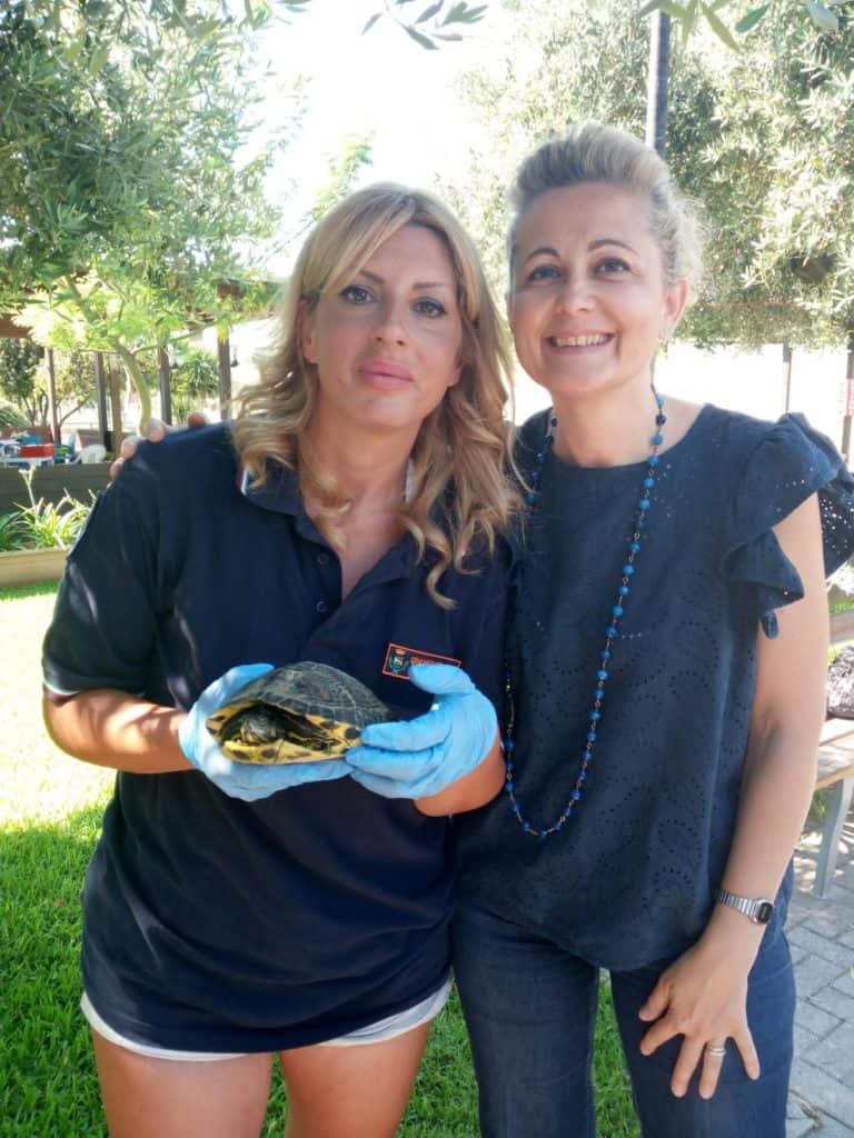 Cerveteri, area verde Via O. Romero: nuova vita per le tartarughe acquatiche