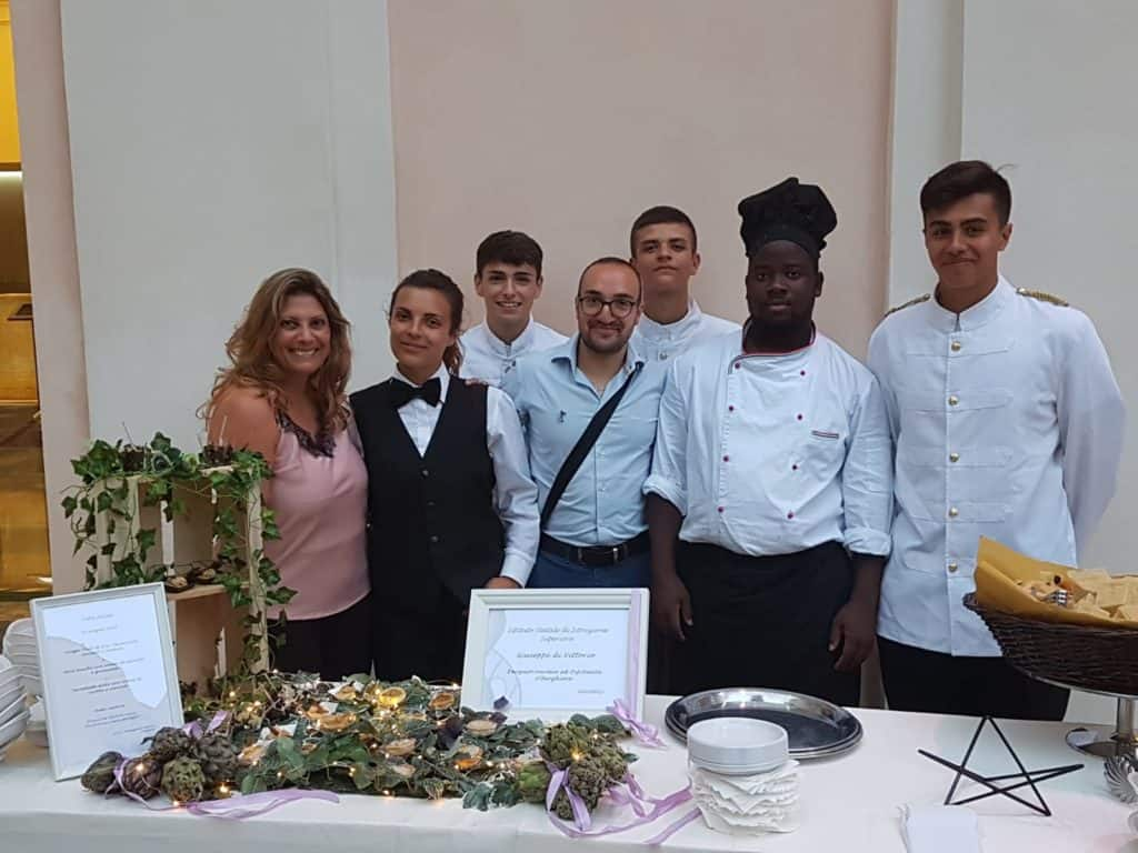 Serata di gala per la rete degli istituti alberghieri del Lazio