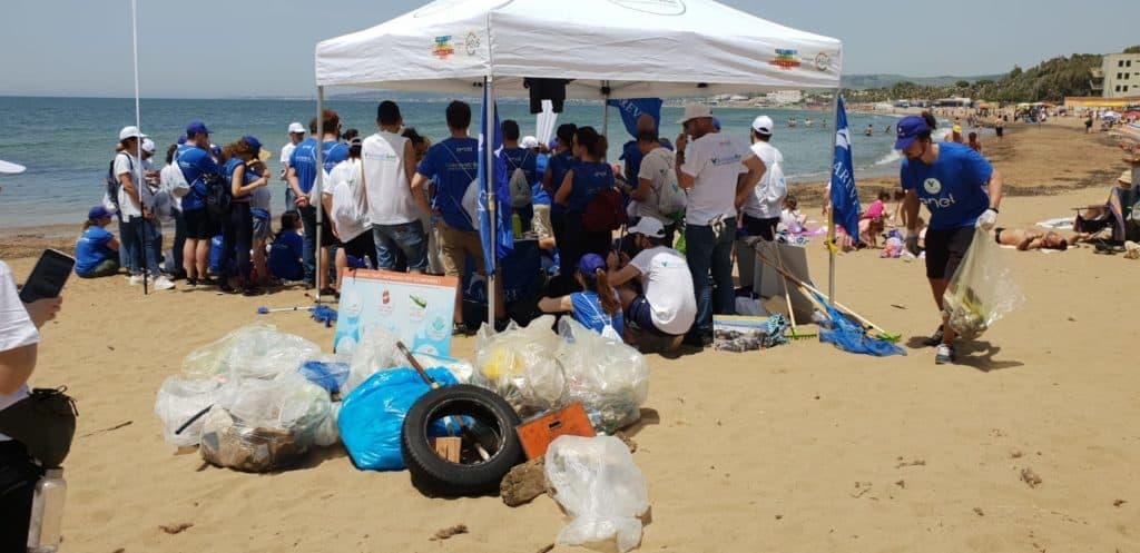 Santa Severa, raccolti oltre 50 chili di rifiuti