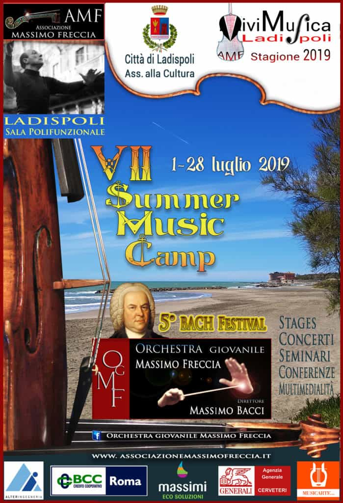 Ladispoli, torna il Summer Music Camp