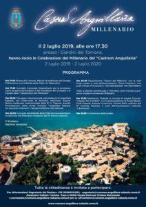 ''Castrum Anguillara compie mille anni. Il 2 luglio grande festa in Piazza''