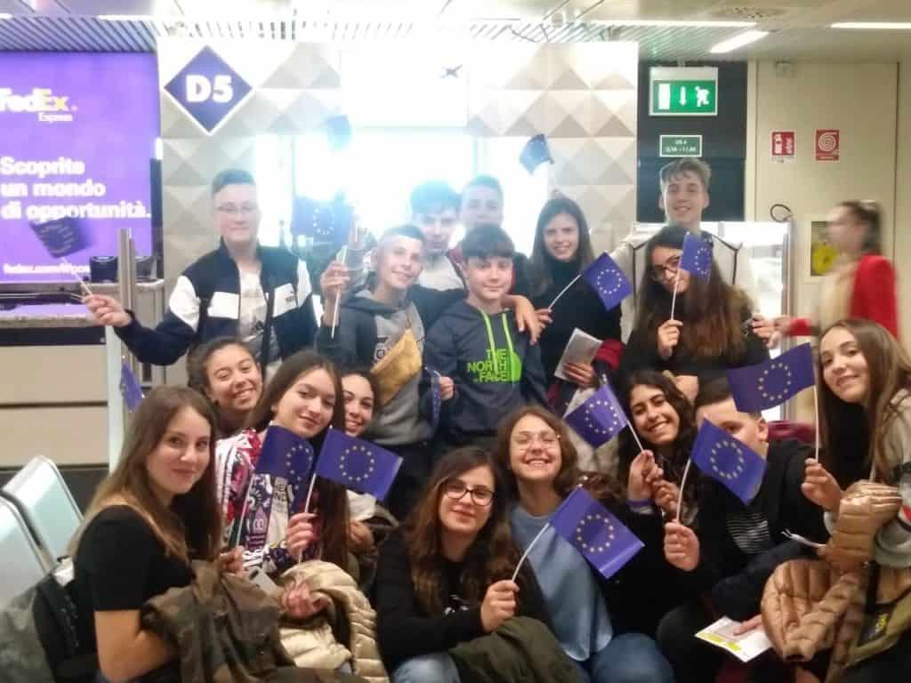 Ladispoli, 17 alunni della Corrado Melone in Erasmus+ 'Jij en Europa, Europa en Jij'