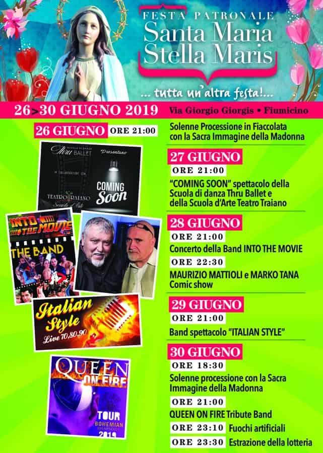 Fiumicino, oggi la festa patronale Stella Maris