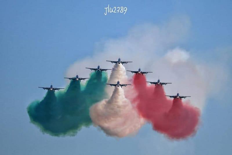 Da oggi al 2 giugno le Frecce tricolori sui cieli d'Italia