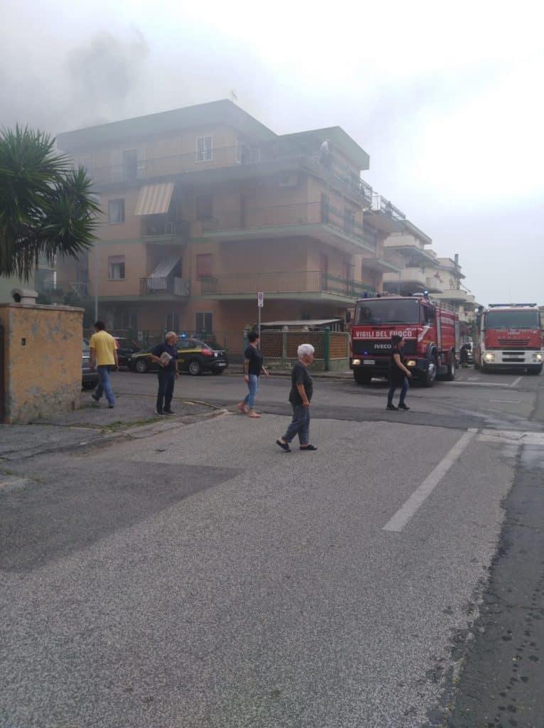 Ladispoli, paura a via Ruspoli
