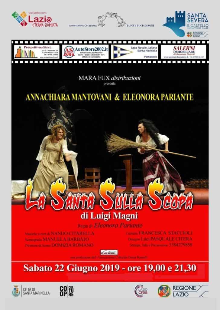 """Santa Severa: in scena """"La santa sulla scopa"""" di Luigi Magni"""