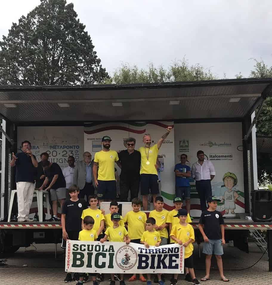 Meeting Nazionale dei Giovanissimi, buon posizionamento per la Tirreno Bike Cerveteri
