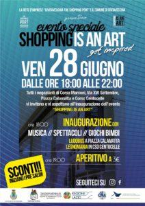 Civitavecchia, 'Shopping is an Art': oggi fino alle ore 22