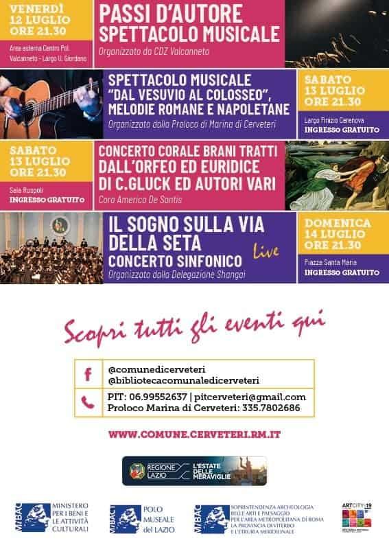 Estate Caerite 2019, si parte! Stasera il concerto del Gruppo Bandistico Cerite