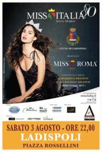 Ladispoli, il 31 luglio conferenza di presentazione dell'evento Miss Roma