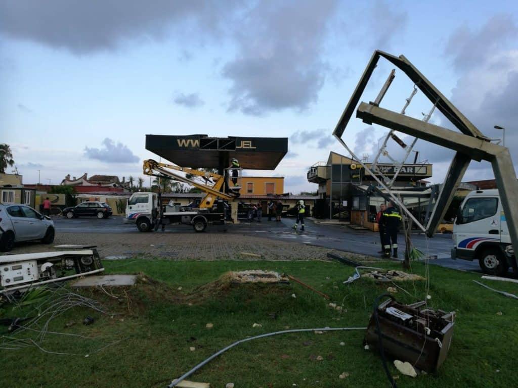Tromba d'aria, 20 le abitazioni colpite a Fiumicino