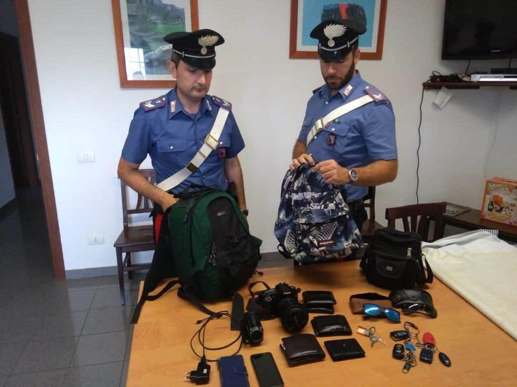 Fiumicino, due persone arrestate per furto a Passoscuro