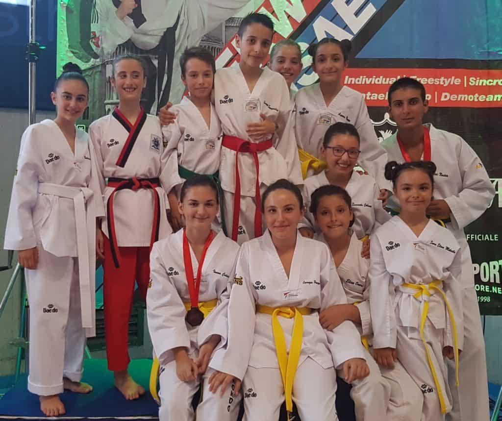 Ladispoli, nuovo successo per gli atleti Taekwondo del Gabbiano