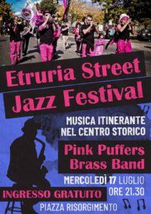 Cerveteri, successo per l'Etruria Street Jazz Festival. In arrivo Michael Supnick