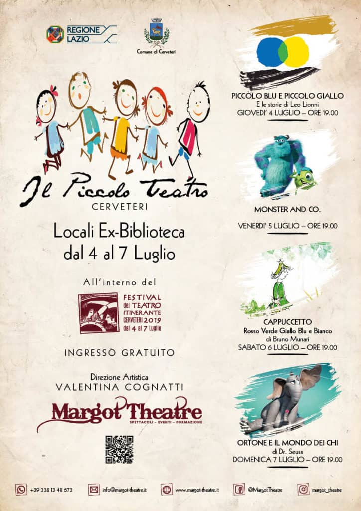 """Cerveteri, tutto pronto per il """"Festival del Teatro Itinerante"""""""
