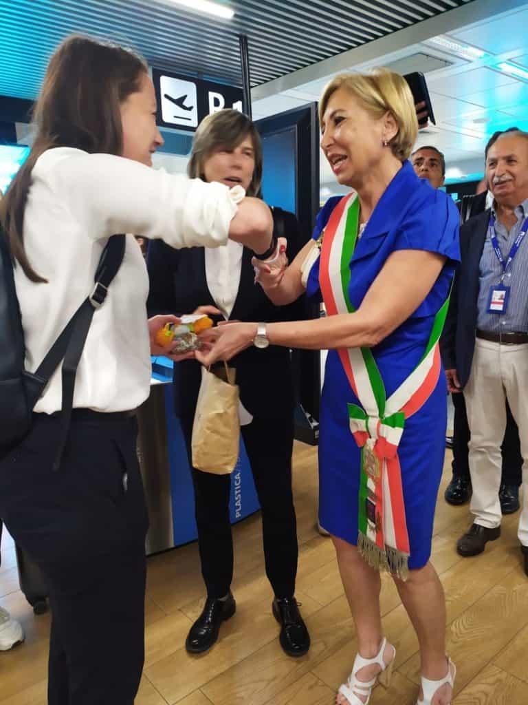 """Fiumicino, l'assessore Anselmi: """"Un onore accogliere le ragazze della nazionale di calcio di ritorno dalla Francia"""""""