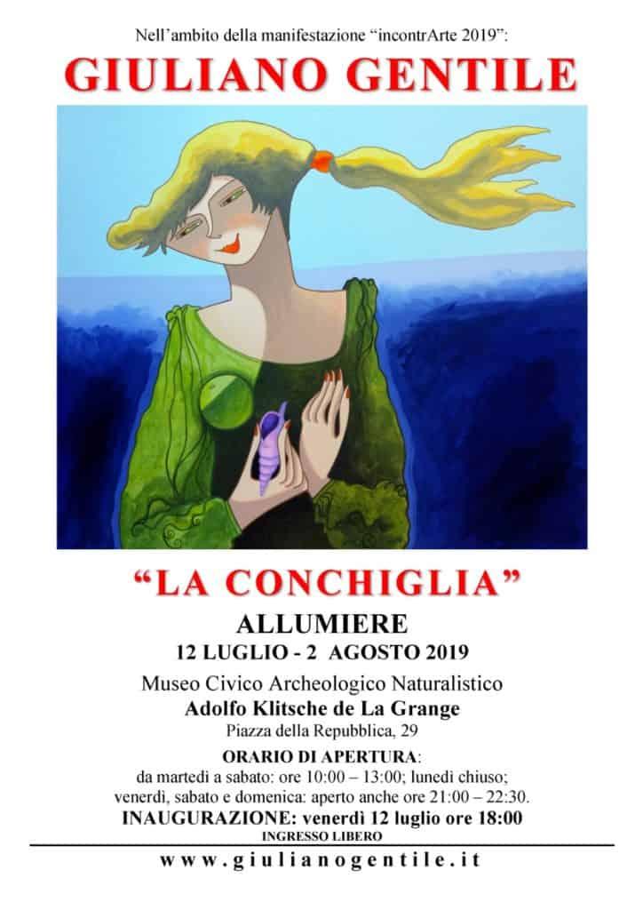 Allumiere, oggi l'inaugurazione della mostra di Giuliano Gentile