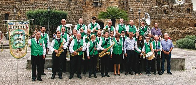 Il Gruppo Bandistico Cerite celebra Santa Cecilia