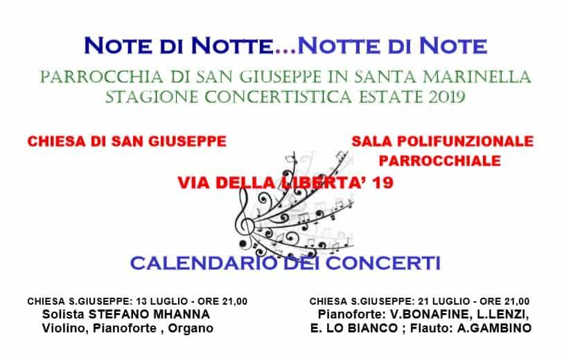 Santa Marinella, concerto di pianoforte e flauto alla Parrocchia di San Giuseppe
