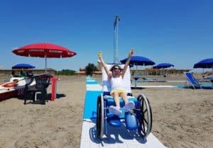 Casa Ronald Roma Palidoro: ''Da oggi spiagge accessibili a tutti''