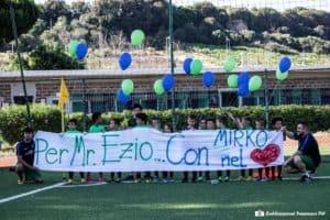 """Cerveteri Calcio, bimbi in campo per il Memorial Mirko Zinno. Il Sindaco: """"Presto uno spazio a lui dedicato''"""
