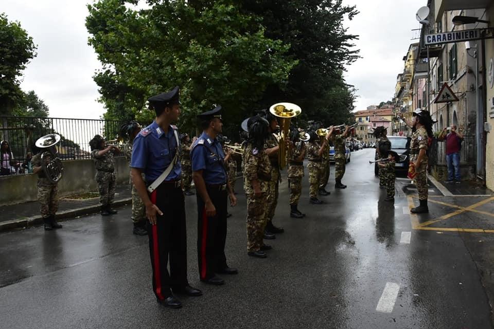La Fanfara Bersaglieri di Ladispoli ricorda il vice brigadiere Mario Cerciello Rega