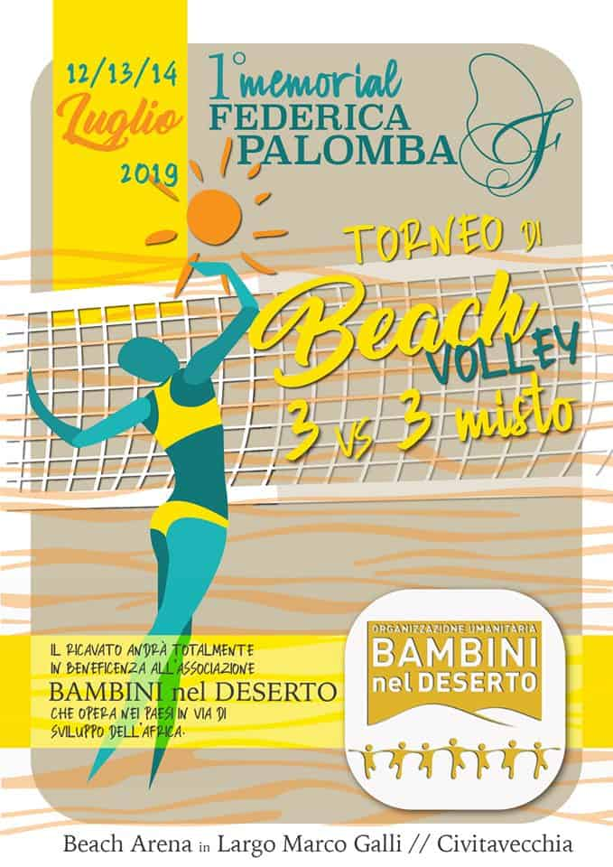 Ai nastri di partenza il primo memorial di beach volley dedicato a Federica Palomba