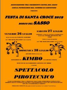 Sasso, tutto pronto per la Festa di Santa Croce: musica, intrattenimento e stand gastronomici