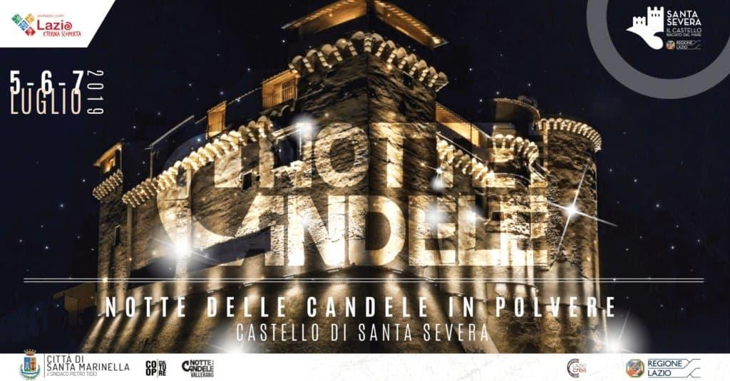 Il Castello di Santa Severa si illumina con la Notte delle candele in polvere