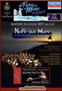 Notte dal Mare a Marina di San Nicola con l'orchestra giovanile Massimo Freccia