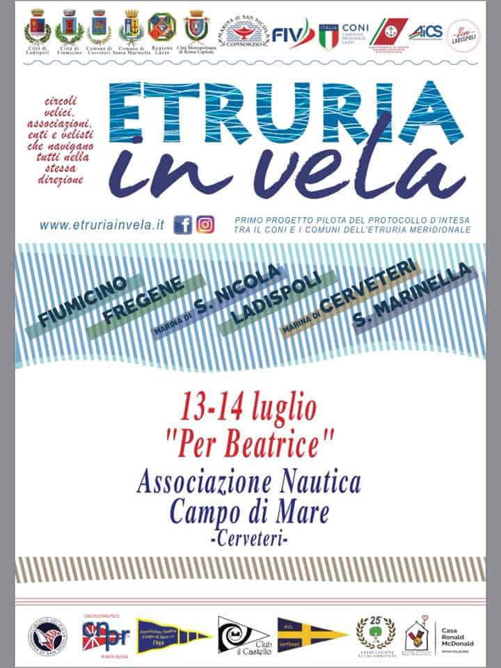 Campo di Mare, nel weekend c'è Etruria in Vela