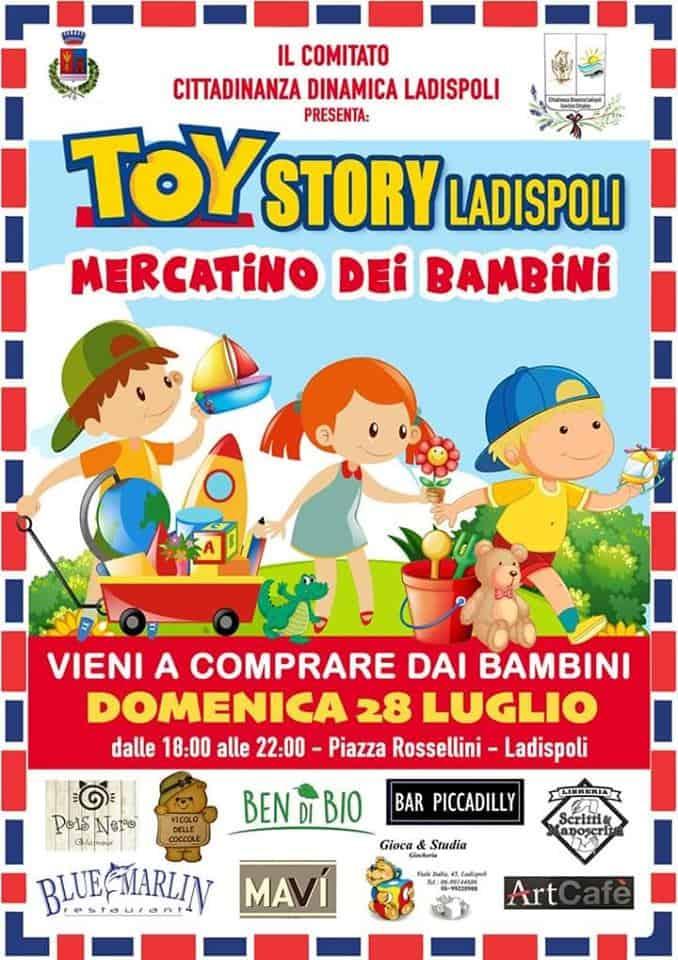 Torna il Mercatino dei Bambini in Piazza Rossellini con una novità estiva